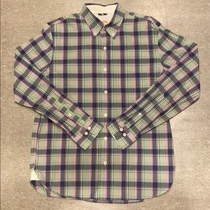 Brooks Brothers - Blue/Green Plaid Button Down